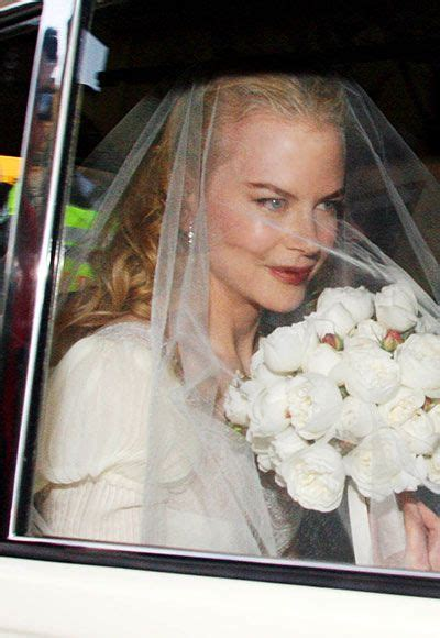 100 memorable celebrity wedding moments nicole kidman