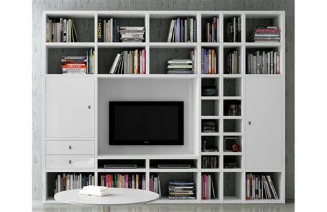 canapé bibliothèque bibliothèque moderne murale mobilier de salon