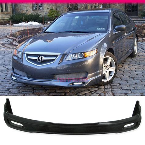 Fits 04 05 06 Acura Tl Base Sedan 4dr Jdm Front Bumper Lip