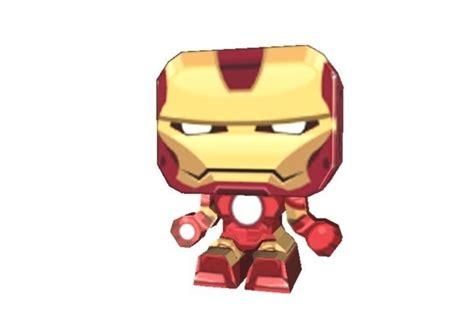 iron man  printable paper cut  template  model