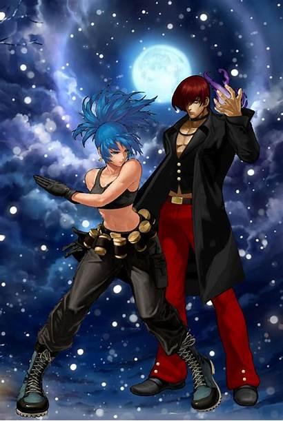 Iori Leona Fighter Kof Anime Street Winter