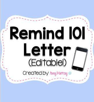 parent communication app editable letter template