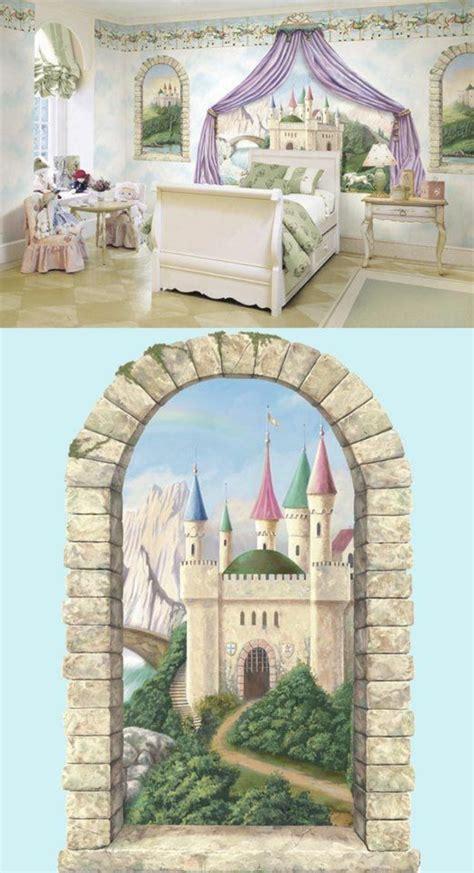 Kinderzimmer Mädchen Schloss by Wandbemalung Kinderzimmer Tolle Interieur Ideen