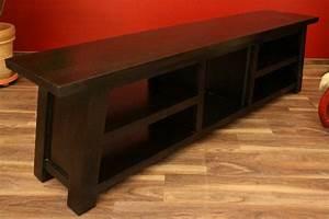 Hifi Möbel Holz : sideboard tv hifi schrank rack holz massiv japanisch 193x55x40 ~ Indierocktalk.com Haus und Dekorationen