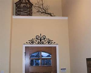 wall scroll decal vinyl wall decal over the door over the With kitchen cabinets lowes with customized wall art quotes