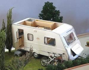 Fabriquer Mini Caravane : comment fabriquer une caravane miniaturen pinterest miniatur wohnwagen und minis ~ Melissatoandfro.com Idées de Décoration