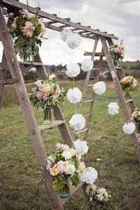 22, Rustic, Country, Wedding, Decoration, Ideas, With, Ladders