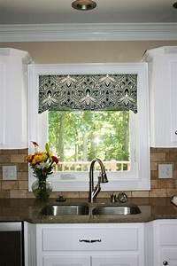 Kitchen window cornice ideas kitchen window valances for Kitchen valance ideas