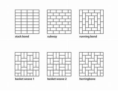 Tile Patterns Subway Pattern Backsplash Floor Tiles