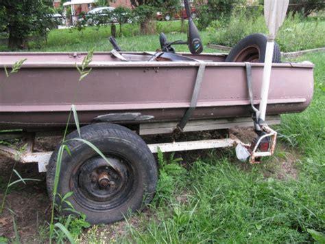 Crestliner Duck Boats For Sale by Vintage Alluminum 16 Crestliner Fishingduck Boat