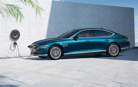 Preview: Genesis Electrified G80 is a Korean Tesla Model S ...