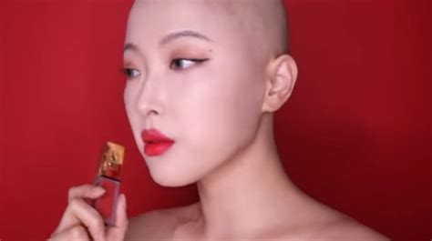 pangkas rambut sampai habis kisah beauty vlogger korea