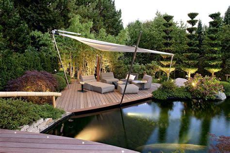 Terrasse Am Teich by Teichgestaltung Teich Im Garten Terrassengestaltung