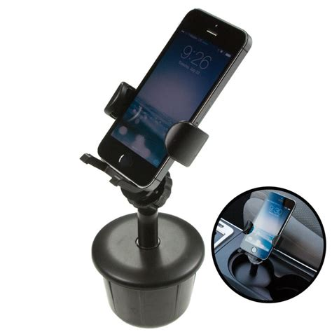 cup holder phone mount universal cell phone stand mounts in vehicle cup holder