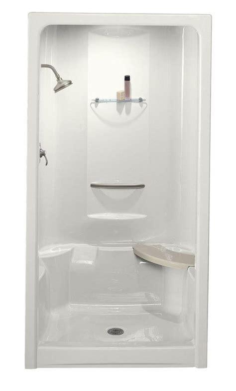 kohler    piece shower fiberglass shower stalls