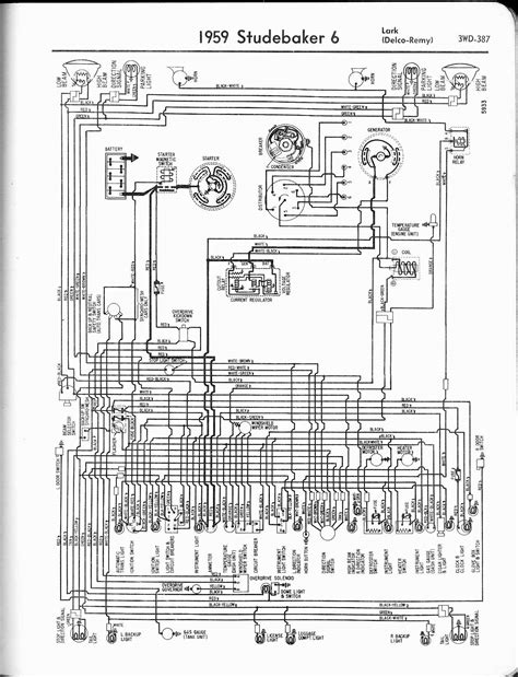 Studebaker Headlight Wiring studebaker wiring diagrams the car manual project