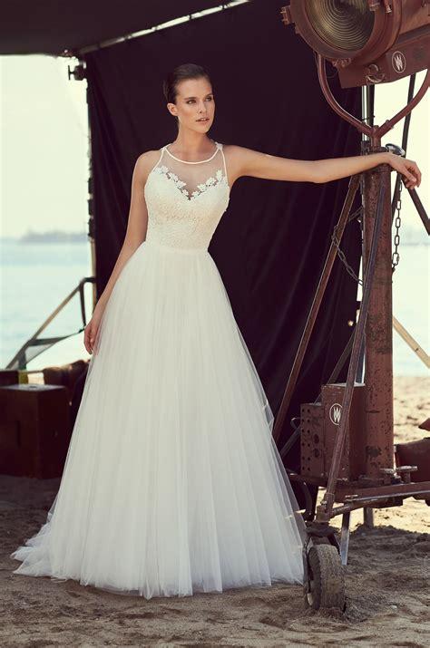 lace racerback wedding dress style  mikaella bridal