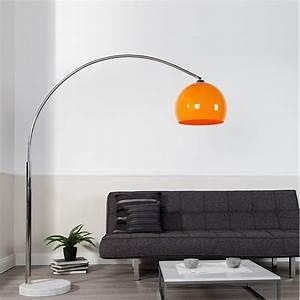Stehlampe Retro Design : big bow retro design lampe dimmbar orange lounge stehlampe bogenlampe dimmer eur 138 00 ~ Frokenaadalensverden.com Haus und Dekorationen