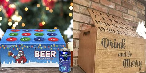 beer advent calendars  christmas