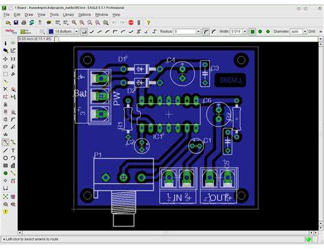 cadsoft eagle pcb design software  raspberry pi