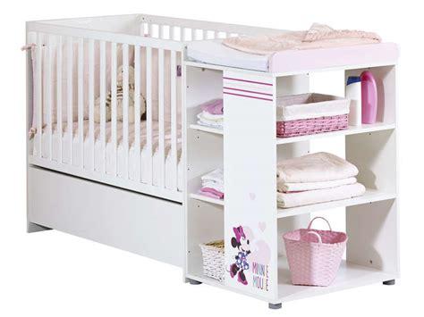 chambre minnie pas cher lit bébé 60x120 cm minnie lit bébé conforama pas cher