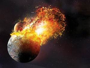 The Moon's real age, and creation from the collision of ...