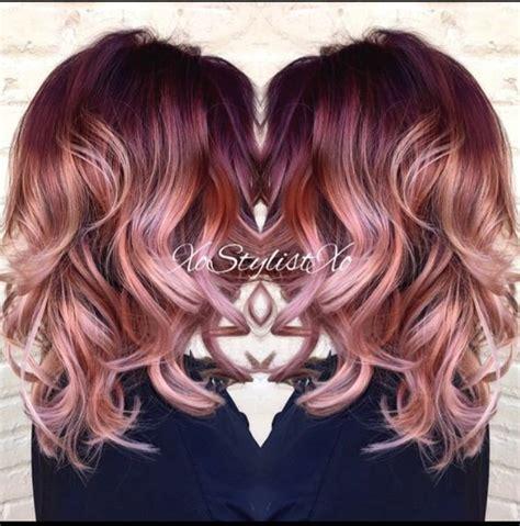 layered hair color ideas 18 striking ombre hair ideas popular haircuts