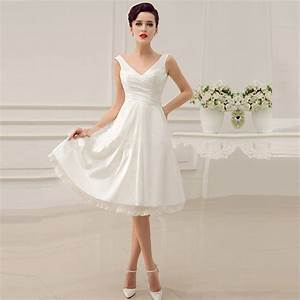 buy 2015 elegant white taffeta bridal dresses spaghetti With elegant short white wedding dress