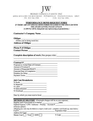 bid bond fillable bid bond request form jw surety bonds