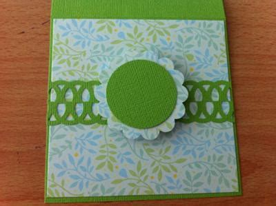 simple birthday card  punched  butterfly design