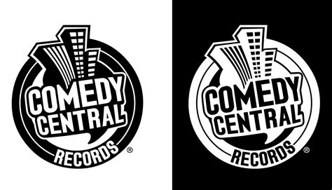 comedy central records logopedia  logo  branding site
