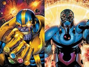 Thanos Vs Darkseid by INeededANewName on DeviantArt