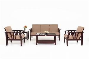 3 2 1 Sofa Set : opal wooden sofa 3 1 1 set ~ Markanthonyermac.com Haus und Dekorationen