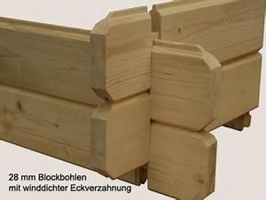 Blockbohlen Nut Und Feder : klara 10 4m gr e 3 80 x 3 20 m optional mit fu boden ~ Whattoseeinmadrid.com Haus und Dekorationen
