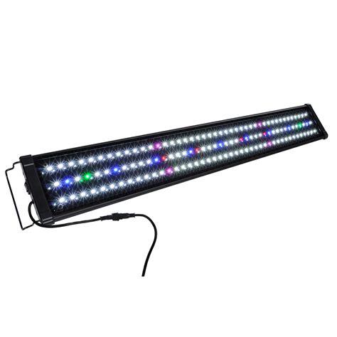 48 led aquarium light 24 quot 36 quot 48 quot multi color led aquarium light 0 5w full spec