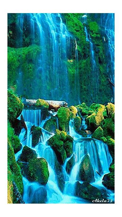 Waterfall Nature Awesome Colorful Cool Water Waterfalls