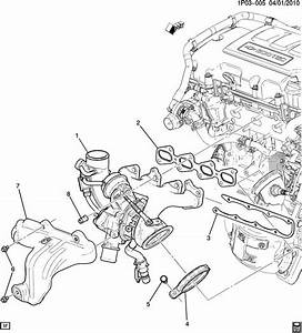 2014 Chevrolet Cruze Nut  Exhaust Manifold Bolt  Nut  Exh
