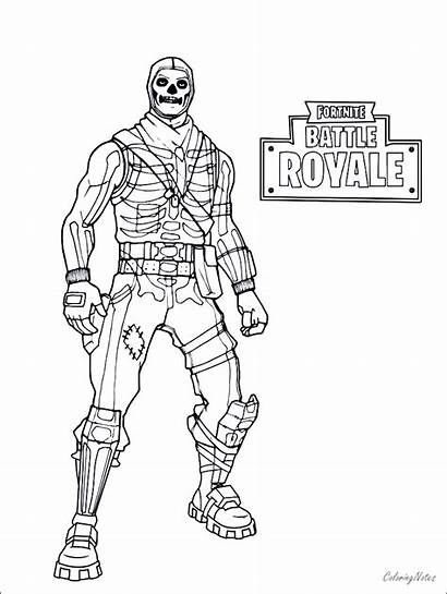 Fortnite Coloring Battle Royale King Drift Ice