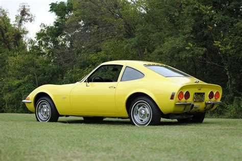 Buick Opel Gt For Sale by 1970 Buick Opel Gt Yellow Refrigerator Magnet 40 Mil Ebay