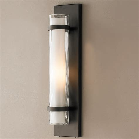 wave pattern wall sconce shades of light