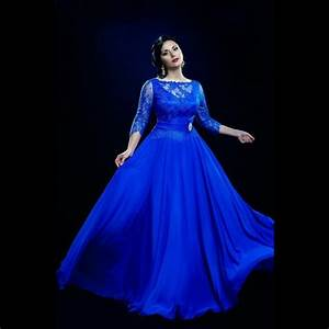 aliexpresscom buy plus size royal blue prom gowns With royal blue wedding dresses plus size