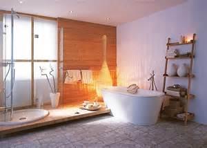 schöner wohnen badezimmer badezimmer mit bambus podest schöner wohnen