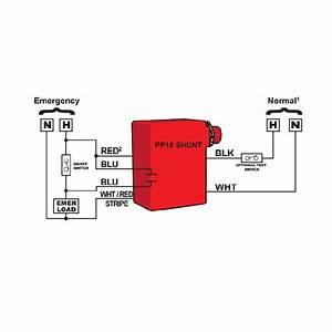 Npp16 D Er  U2013 Nlight Single Zone 16 Amp 0-10v Dimming Emergency Power Pack