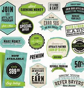 business elements stickers and labels vector free vector With create business labels