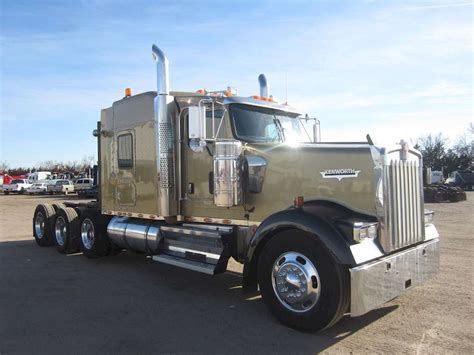 2009 Kenworth W900l Sleeper Truck For Sale 817 000 Miles
