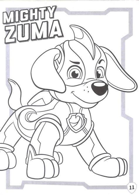 paw patrol mighty pups coloring pages coloring home