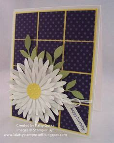 stampin  daisies die images flower cards card