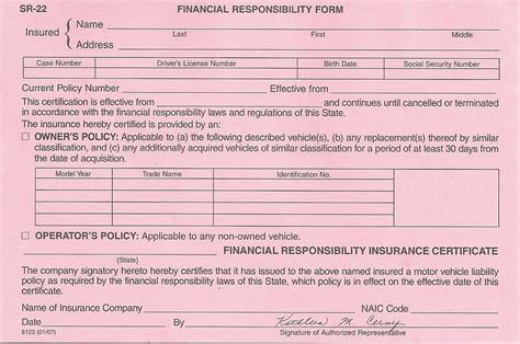 sr insurance form indiana mbm legal