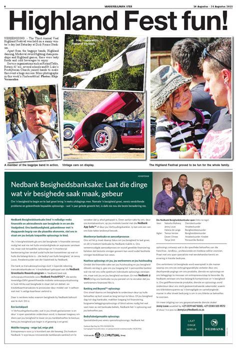 Vanderbijlpark Ster 18 Augustus by Vaalweekblad - Issuu