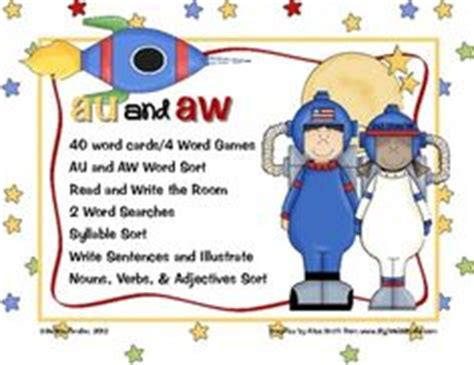 school auaw images phonics aw words
